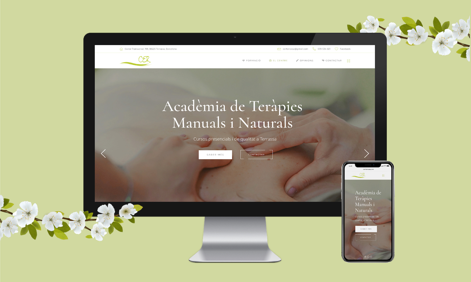 WordPress Website Development, CER | Judit Civit Studio, Digital Servicies Barcelona